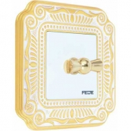 FEDE FIRENZE gold white patina