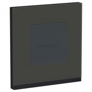 New Unica Pure black glass